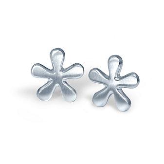 Alex Woo Sterling Silver Little Seasons Daisy Earrings