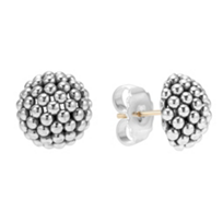 Lagos_Sterling_Silver_Signature_Domed_Caviar_Stud_Earrings