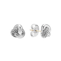 Lagos_Signature_Caviar_Sterling_Silver_Love_Knot_Earrings