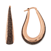 Pesavento_Polvere_di_Sogni_Pink_Sterling_Silver_&_Bronze_Dust_Curved_Earrings