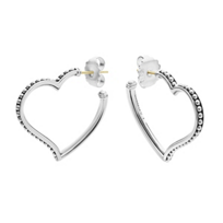 Lagos_Sterling_Silver_Signature_Caviar_Heart_Earrings