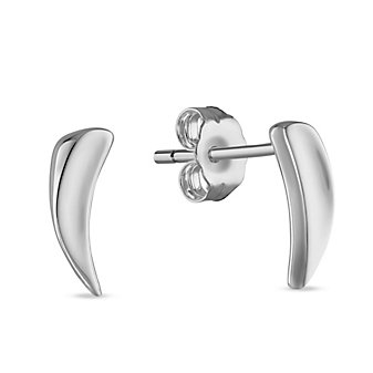 Sterling Silver Mini Thorn Earrings