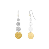 gurhan_yellow_tone_sterling_silver_layered_graduated_hammered_disc_drop_earrings