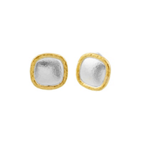 gurhan_yellow_tone_sterling_silver_layered_cushion_shape_spell_button_earrings