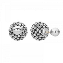 lagos_sterling_silver_signature_caviar_ball_front_back_post_earrings