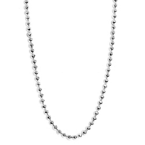 Alex_Woo_Sterling_Silver_1.2mm_Disco_Ball_Chain,_16""