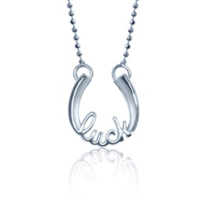 Alex_Woo_Sterling_Silver_Little_Words_Luck_Horseshoe_Pendant