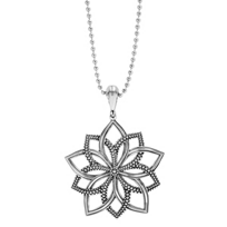 Lagos_Sterling_Silver_Rare_Wonders_Floral_Star_Beaded_Pendant