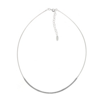 pesavento_sterling_silver_grey_dust_strand_necklace,_19""