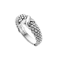 Lagos_Sterling_Silver_Signature_Caviar_Beaded_X_Ring