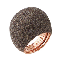 Pesavento_Polvere_di_Sogni_Pink_Sterling_Silver_&_Bronze_Dust_Large_Dome_Ring