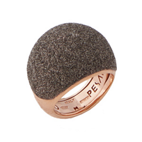 Pesavento_Polvere_di_Sogni_Pink_Sterling_Silver_&_Bronze_Dust_Small_Dome_Ring