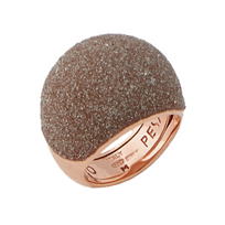 Pesavento_Polvere_di_Sogni_Pink_Sterling_Silver_&_Beige_Dust_Small_Dome_Ring