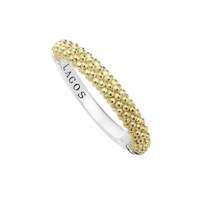Lagos_Sterling_Silver_&_18K_Yellow_Gold_Caviar_Bead_Ring
