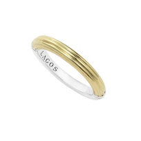 Lagos_Fluted_Sterling_Silver_&_18K_Yellow_Gold_Stacking_Ring