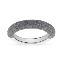 pesavento_sterling_silver_&_rhodium_light_gray_dust_stackable_ring