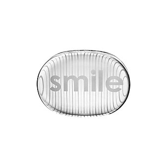 Simon Pearce Smile Paperweight