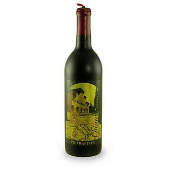 Chianti Wine Bottle Candle