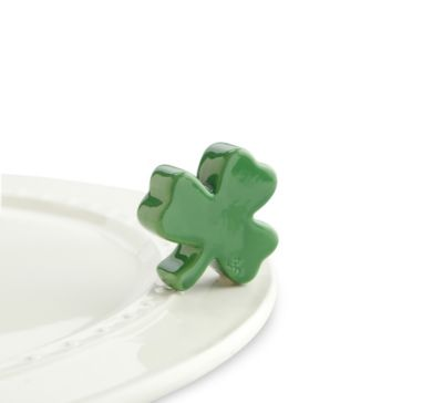 Nora Fleming Shamrock Mini