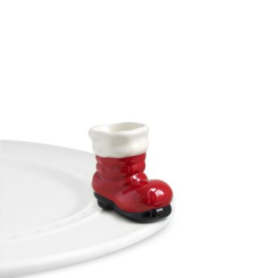 Nora Fleming Santa Boot Mini