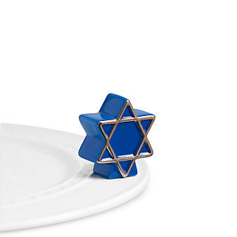 Nora Fleming Star of David Mini