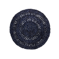 Juliska_Straw_Loop_Round_Placemat_Navy