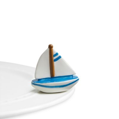 Nora Fleming Sailboat Mini