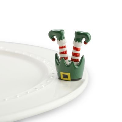 Nora Fleming Elf Feet Mini