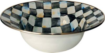 MacKenzie-Childs Courtly Check Enamelware