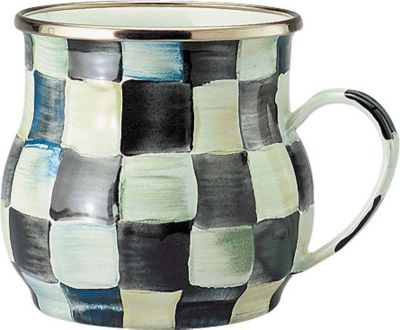 MacKenzie-Childs Courtly Checked Enamelware