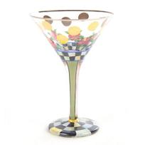 MacKenzie-Childs_Speakeasy_Martini_Glass