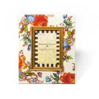 "MacKenzie-Childs_Flower_Market_4""x6""_White_Frame"