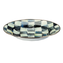 MacKenzie-Childs_Courtly_Check_Enamel_Rimmed_Dish