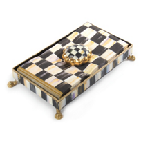 MacKenzie_Childs_Courtly_Check_Napkin_Holder_Set_Hostess