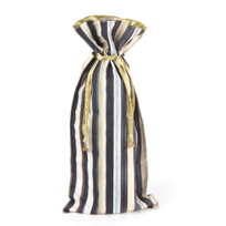"MacKenzie_Childs_Courtly_Stripe_Wine_Bag,_6""_wide,_16.5""_long"