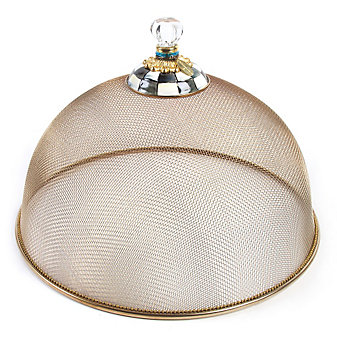 MacKenzie-Childs Courtly Check Large Mesh Dome