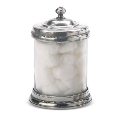 Match Pewter Glass Canisters