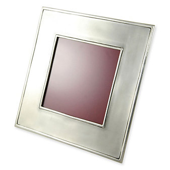Match Lombardia Pewter Square Frame, Large