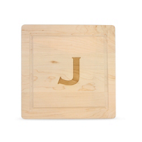 "Maple_Leaf_At_Home_12""_Square_""J""_Board,_No_Handles"