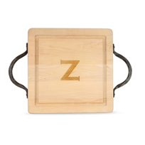 "Maple_Leaf_At_Home_""Z""_Square_Board,_Hammered_Handles"
