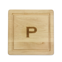 "Maple_Leaf_At_Home_""P""_Square_Board,_No_Handles"