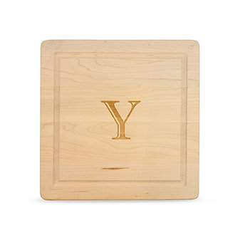 "Maple Leaf At Home ""Y"" Square Board, No Handles"