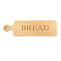 "Maple_Leaf_At_Home_""Bread""_Bread_Board,_20""_x_6""_x.75"""