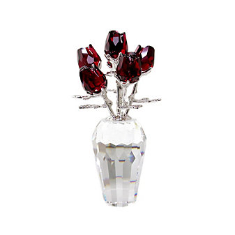 Swarovski Flower Dreams Red Roses