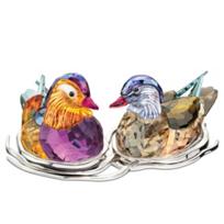 Swarovski_Mandarin_Ducks_Topaz