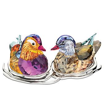 Swarovski Mandarin Ducks Topaz