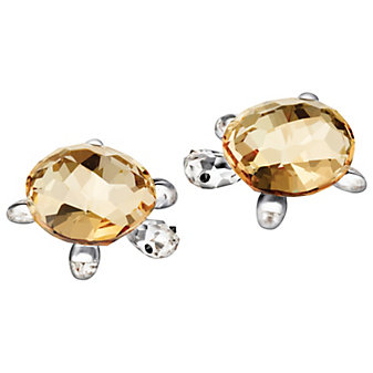 Swarovski Baby Tortoises Crystal Golden Shadow