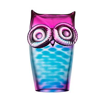 Kosta Boda Wild Life Owl Blue