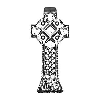 Waterford Celtic Cross Collectible