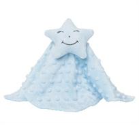 Elegant_Baby_Blue_Star_Blankie